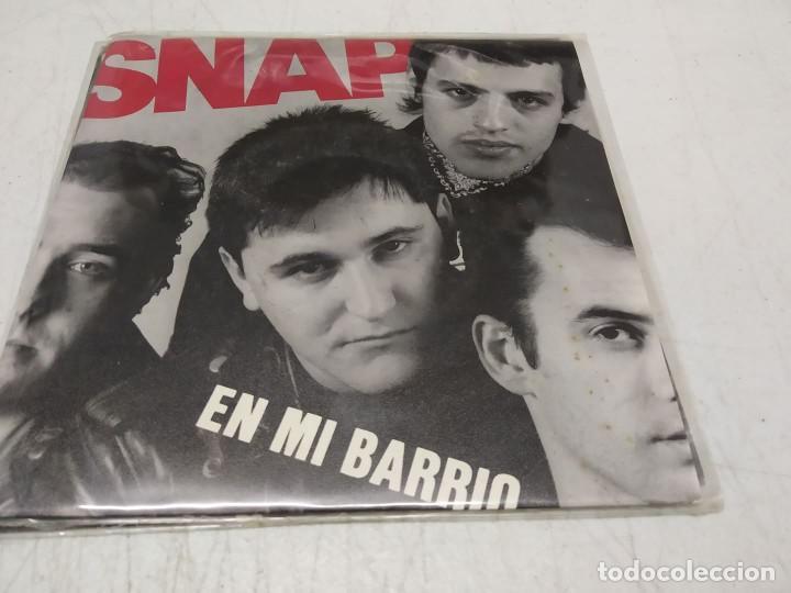 SNAP- EN MI BARRIO / CAROL - SINGLE- (Música - Discos - Singles Vinilo - Punk - Hard Core)
