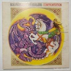 Discos de vinilo: LP GATEFOLD BOB MARLEY & THE WAILERS CONFRONTATION EDICION ESPAÑOLA DE 1983. Lote 255403785