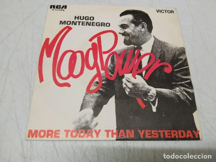 HUGO MONTENEGRO – MOOG POWER (Música - Discos - Singles Vinilo - Orquestas)