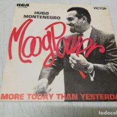 Discos de vinilo: HUGO MONTENEGRO – MOOG POWER. Lote 255403925