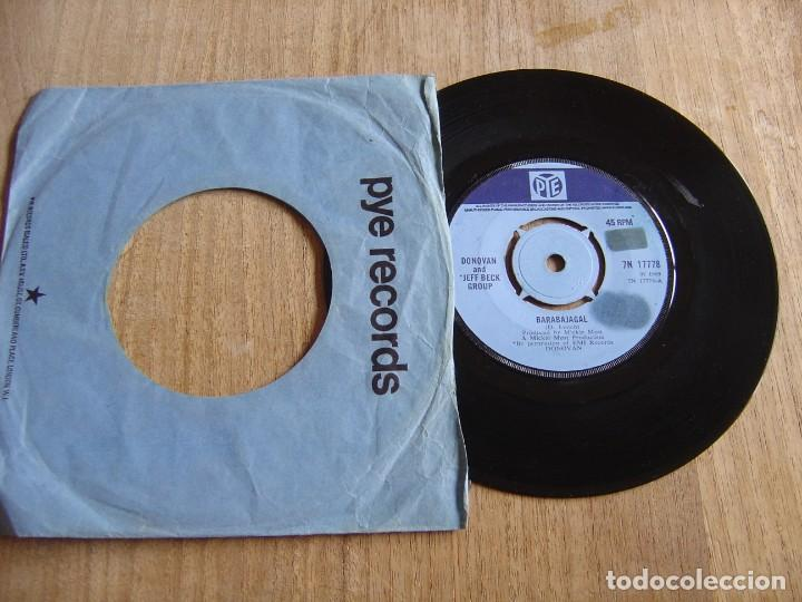 DONOVAN - BARABAJAGAL / TRUDY - ENGLAND - PYE 1969. PROBADO (Música - Discos de Vinilo - EPs - Pop - Rock Internacional de los 50 y 60)