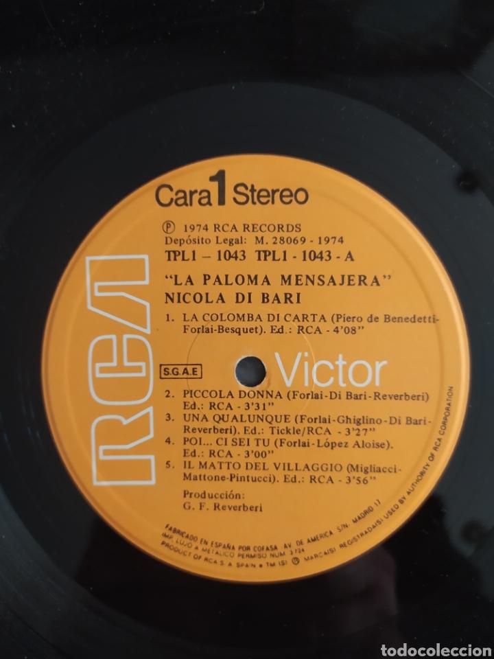 Discos de vinilo: LP Nicola Di Bari - Foto 3 - 255416975