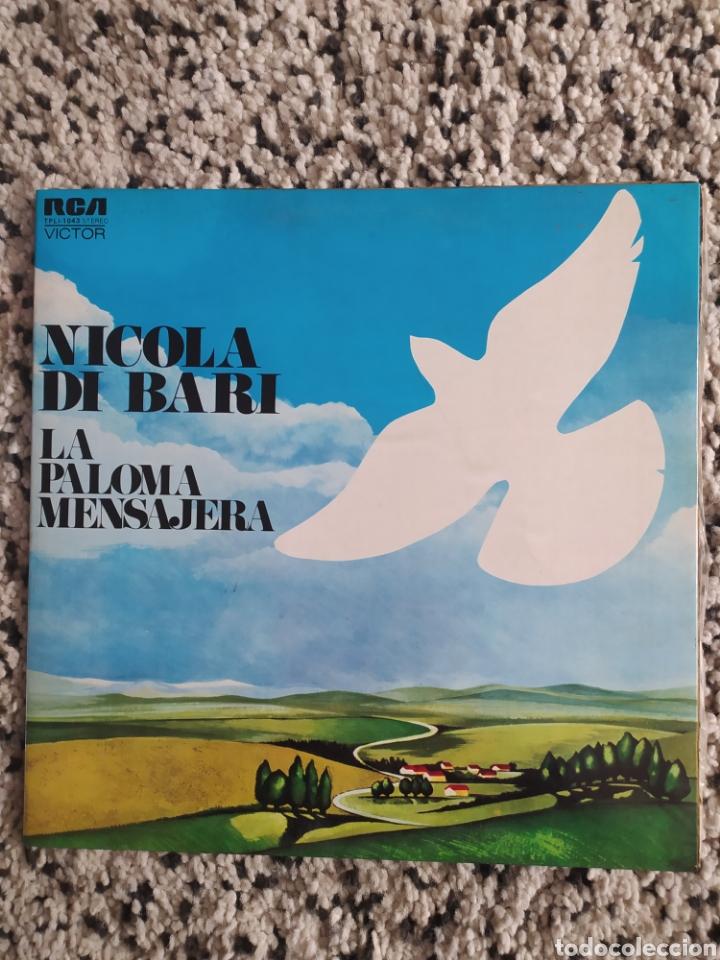 LP NICOLA DI BARI (Música - Discos - LP Vinilo - Canción Francesa e Italiana)