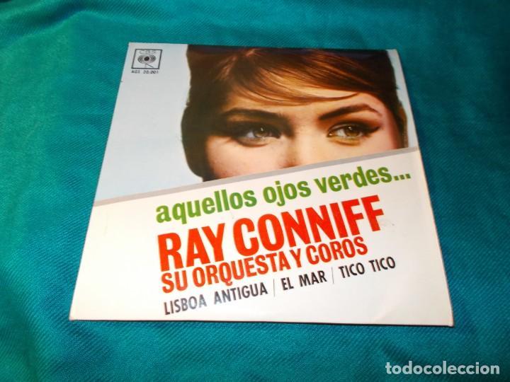 RAY CONNIFF. AQUELLOS OJOS VERDES + 3. EP. CBS, 1962 (Música - Discos de Vinilo - EPs - Pop - Rock Internacional de los 70)