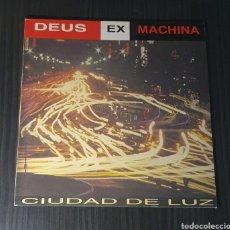 Discos de vinilo: DEUS EX MACHINA / MAXI SINGLE 1992 SPAIN / CIUDAD DE LUZ. Lote 255424690