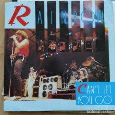 "Discos de vinilo: RAINBOW - CAN'T LET YOU GO (12"", SINGLE) (1983/UK) RAREZA!!!. Lote 255426285"
