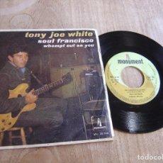 Discos de vinilo: TONY JOE WHITE -SOUL FRANCISCO- 1968. PROBADO. Lote 255426315