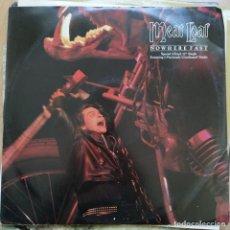 "Discos de vinilo: MEAT LOAF - NOWHERE FAST (12"", SINGLE) (1984/UK). Lote 255426510"