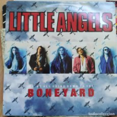 """Discos de vinilo: LITTLE ANGELS - WE'RE ALL GOING DOWN TO THE BONEYARD (12"""", SINGLE) (1991/UK). Lote 255426695"""