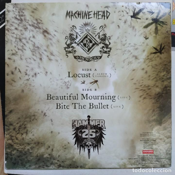 "Discos de vinilo: Machine Head - Locust (10"") (2011/UK) (Nuevo) - Foto 2 - 255427660"