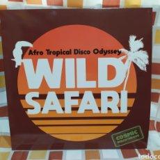 Discos de vinilo: WILD SAFARI: AFRO TROPICAL DISCO ODYSSEY . LP VINILO PRECINTADO. AFROBEAT DISCO FUNK. Lote 255434300