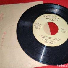 Discos de vinilo: ¡FORMIDABLES! RADIO MADRID.FRANZ JOHAN+MANUEL GAS+TITO MORA+ANTONIO ARETA EP 7'' 1963 PRIVADO SER. Lote 255436665