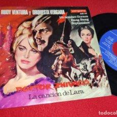 Discos de vinilo: RUDY VENTURA&ORQ.VERGARA DOCTOR ZHIVAGO LA CANCION DE LARA/BANG BANG +2 EP 7'' 1966 VERGARA. Lote 255437960
