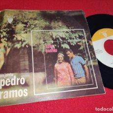 Discos de vinilo: CONJUNTO PEDRO RAMOS TODO CARIÑO/QUIEN BAILA MEJOR/Y AHORA SI +1 EP 7'' AREITO CUBA LATIN MAMBO. Lote 255438970