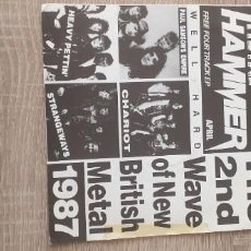 Discos de vinilo: METAL HAMMER 4 GRUPOS,4 TEMAS,HEAVY PETTIN ,ET. Lote 255440850