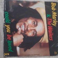 Discos de vinilo: BOB MARLEY COULD YOU BE LOVE + ONE DROP. Lote 255441670