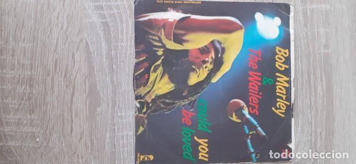 Discos de vinilo: BOB MARLEY Could you be love + One drop - Foto 2 - 255441670