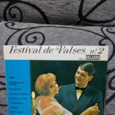 Discos de vinilo: FESTIVAL DE VALSES N°2. Lote 255451290