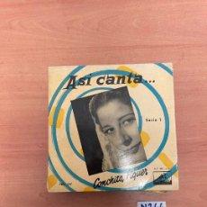 Discos de vinilo: ASI CANTA. Lote 255469440