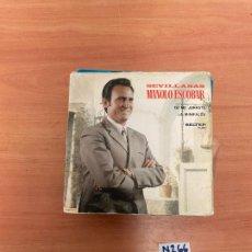 Discos de vinilo: MANOLO ESCOBAR. Lote 255469530