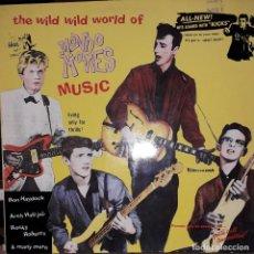 Discos de vinilo: L.P. VARIOUS - THE WILD WILD WORLD OF MONDO MOVIES MUSIC (BIG BEAT 1990). Lote 255471500