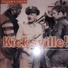 Discos de vinilo: L.P. VARIOUS - KICKSVILLE! #VOLUME FOUR - RAW ROCKABILLY ACETATES. Lote 255472965