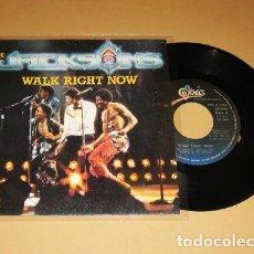 Discos de vinilo: THE JACKSONS - WALK RIGHT NOW - SINGLE - 1981. Lote 255476295