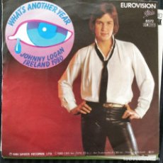 "Discos de vinilo: JOHNNY LOGAN - WHAT'S ANOTHER YEAR (7"", SINGLE) (1980/EU) EUROVISION. Lote 255478715"