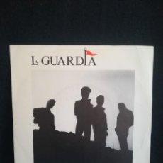 """Discos de vinilo: LA GUARDIA - EL MUNDO TRAS EL CRISTAL (7""""), 1988 ESPAÑA, IMPECABLE. Lote 255488295"""