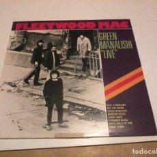 Discos de vinilo: FLEETWOOD MAC LP GREEN MANALISH LIVE GER.. Lote 255488585