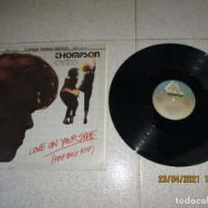Discos de vinilo: THOMPSON TWINS - LOVE ON YOUR SIDE ( RAP BOY RAP ) - MAXI - ARISTA - REF F-600.825 - LV -. Lote 255489910