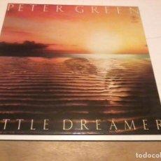 Discos de vinilo: PETER GREEN LP LITTLE DREAMER ESP.1980 ENCARTE LETRAS. Lote 255490135