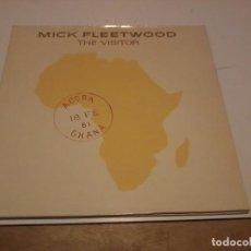 Discos de vinilo: MICK FLEETWOOD LP THE VISITOR GER.1981 PORT ABIERTA ENCARTE LETRAS. Lote 255490770