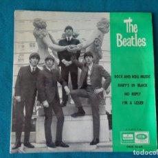 Discos de vinilo: THE BEATLES 45 R.P. M. 1964. Lote 255494345