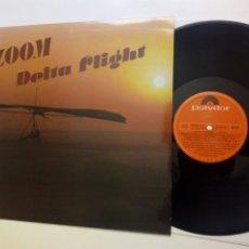 Discos de vinilo: LP: ZOOM - DELTA FLIGHT (POLYDOR, 1980) - SPANISH 70S DISCO FUNK, BALLET ZOOM DE VALERIO LAZAROV. Lote 255495840