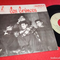 Discos de vinilo: LOS BRINCOS DANCE THE PULGA/I CAN'T MAKE IT/SHAG IT/I'M NOT BAD EP 7'' 1964 NOVOLA. Lote 255502985