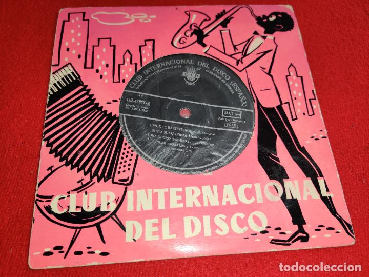 PILAR MORALES & CONJUNTO FERNANDO ORTEU BRIGITTE BARDOT/SUCU SUCU +4 EP 7'' 1961 CID (Música - Discos de Vinilo - EPs - Grupos Españoles 50 y 60)