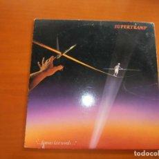 Discos de vinilo: SUPERTRAMP FAMOUS LAST WORDS. Lote 255508740