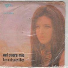 Discos de vinilo: 45 GIRI LOUISELLE LA FORMICA /NEL CUORE MIO LABEL PARADE ITALIE 1968 TRACCE DI SCOTSCH ON COVER. Lote 255510540