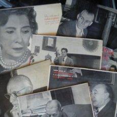 Discos de vinilo: ARCHIVO DE LA PALABRA: FERNÁNDEZ FLÓREZ, ANTONIO, PEMÁN, ORTEGA, MEMBRIVES, AYALA [DEDICADOS]. Lote 255513355