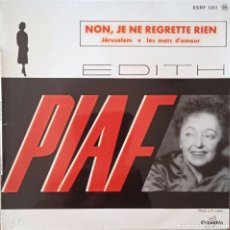 Discos de vinilo: EP EDITH PIAF. Lote 255513480