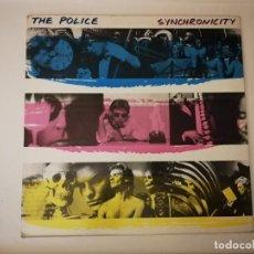 Discos de vinilo: LP- THE POLICE- SYNCHRONICITY-AÑO 1985-CON ENCARTE Y CANCIONERO. Lote 255515055