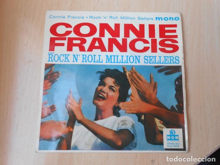 CONNIE FRANCIS - ROCK N´ ROLL MILLION SELLERS -, EP, TWEEDLE DEE + 3 , AÑO 19?? MADE IN GT. BRITAIN (Música - Discos de Vinilo - EPs - Pop - Rock Internacional de los 70)