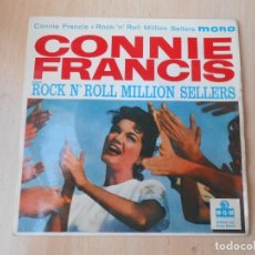 Discos de vinilo: CONNIE FRANCIS - ROCK N´ ROLL MILLION SELLERS -, EP, TWEEDLE DEE + 3 , AÑO 19?? MADE IN GT. BRITAIN. Lote 255522295