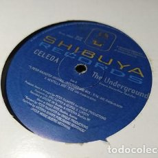 Dischi in vinile: MAXI - CELEDA – THE UNDERGROUND - SH 03 ( G+ / VG) ITALY 2001. Lote 255522530