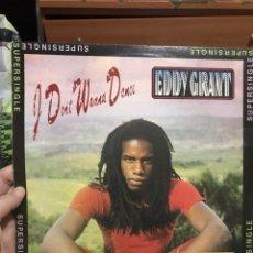 Discos de vinilo: EDDY GRANT . S/S . I DONT WANNA DANCE . ICE. Lote 255525550