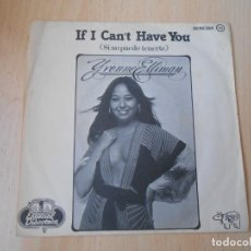 Discos de vinilo: YVONNE ELLIMAN, SG, IF I CAN´T HAVE YOU + 1 , AÑO 1977. Lote 255525875