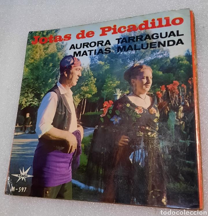 AURORA TARRAGUAL / MATÍAS MALUENDA - JOTAS DE PICADILLO (Música - Discos de Vinilo - EPs - Country y Folk)