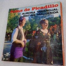 Discos de vinilo: AURORA TARRAGUAL / MATÍAS MALUENDA - JOTAS DE PICADILLO. Lote 255528085