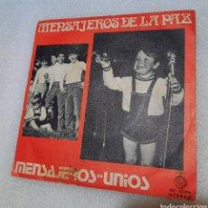 Discos de vinilo: MENSAJEROS DE LA PAZ - MENSAJEROS. Lote 255537300